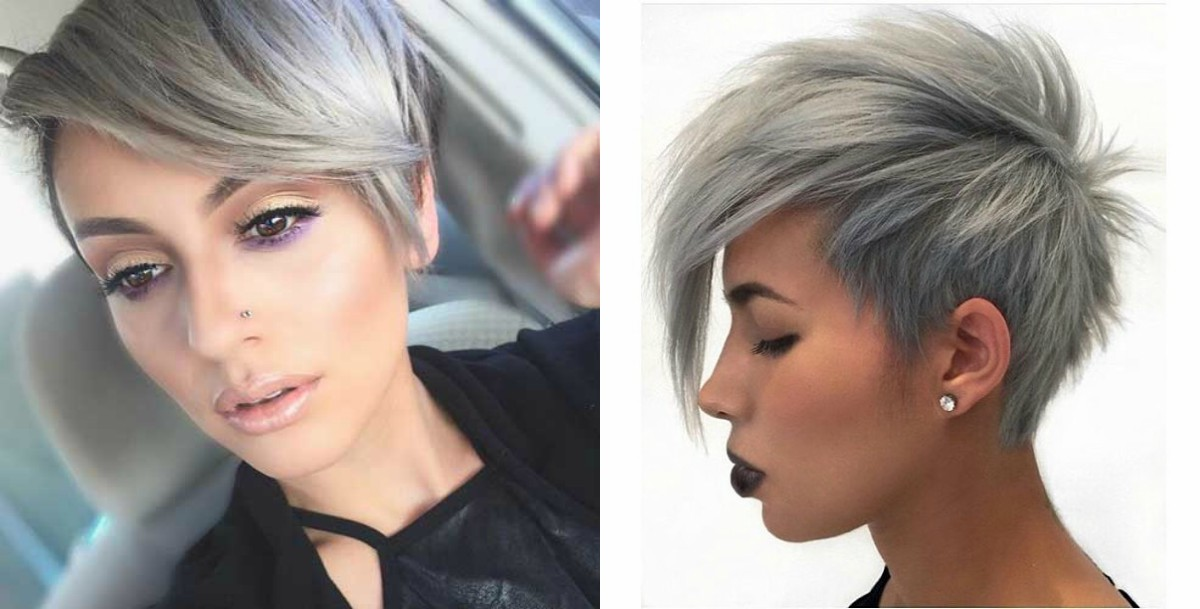 grey-color-pixie-hairstyles