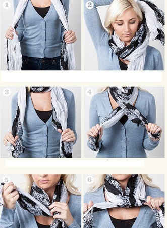 warp and tie - scarf knot 2