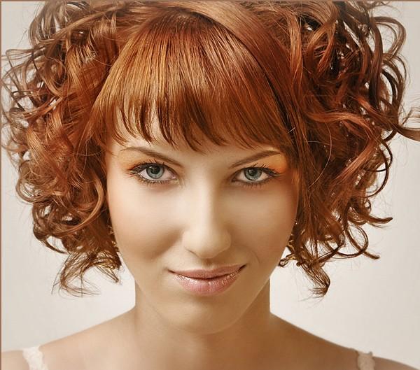 теплого шоколада фото кудри на средние волосы с челкой всех