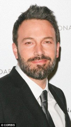 Ben Affleck, 42, sports the salt and pepper look