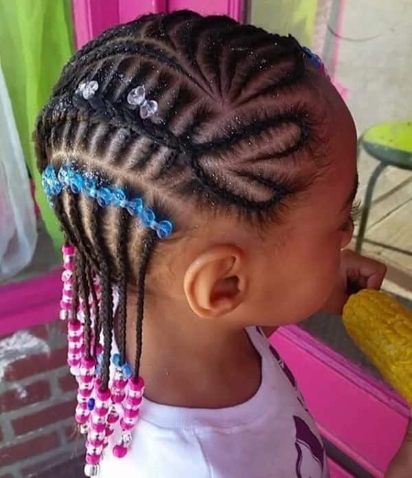 Heart-shaped braids