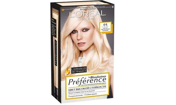 L`Oreal Prеfеrence бежевый