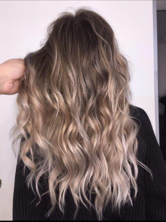 шатун на светло русые волосы фото