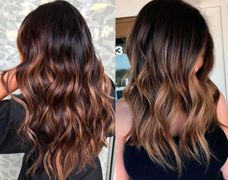 brown ombre 2019