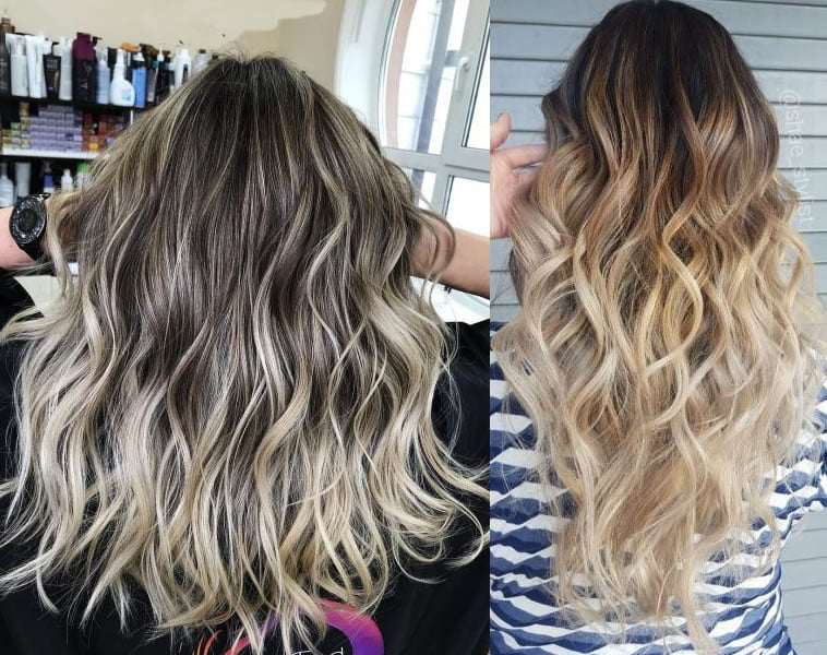 brown to blonde ombre 2019