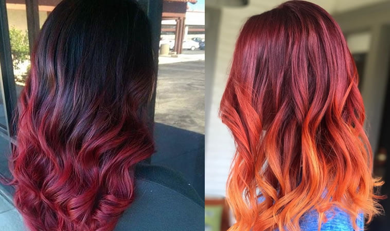 red ombre 2019