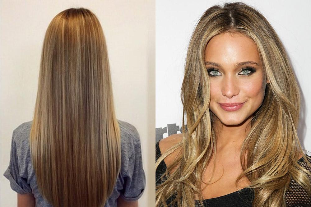все что такое калифорнийское мелирование волос фото это