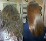 Фото кератинового выпрямления – Что такое кератиновое выпрямление волос (30 фото до и после)