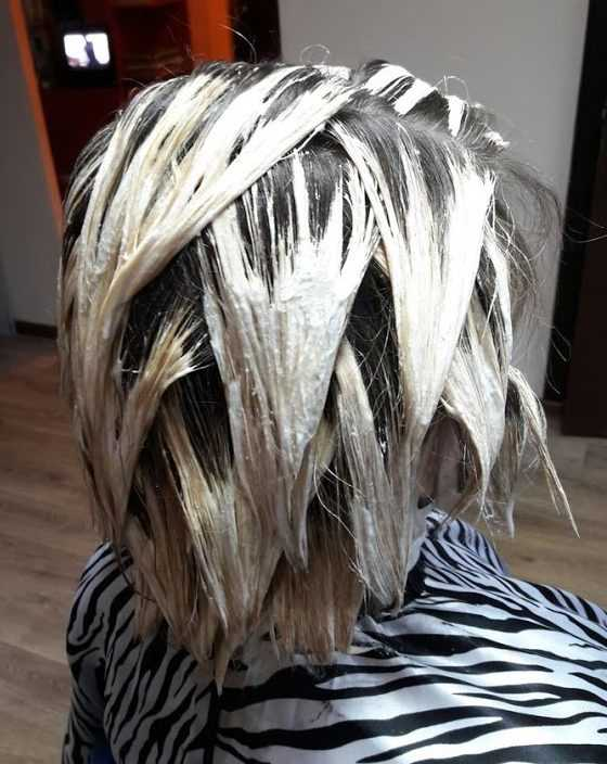 техника окрашивания балаяж на короткие волосы фото подмосковном природном заказнике