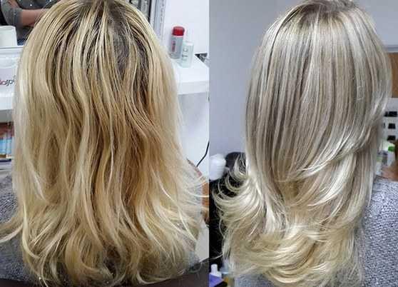 Какой краской мелировать волосы
