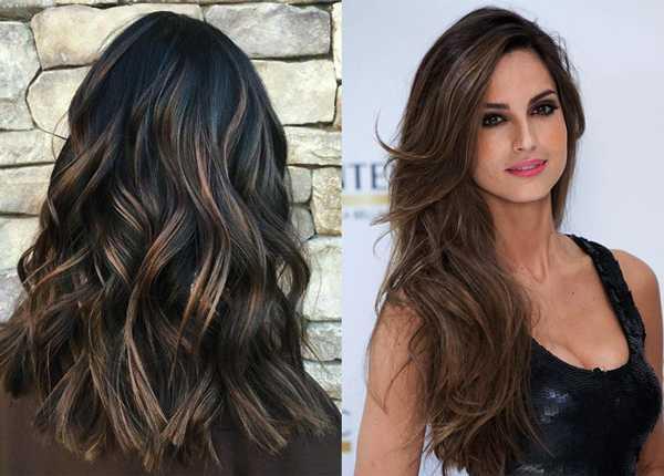 Мелирование на длин волосы