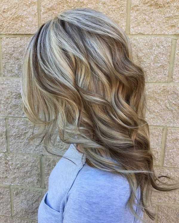 Мелирование волос открытым способом